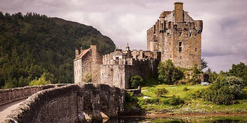 Eilean Donam Castle, Scotland