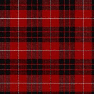 Munro Black and Red Tartan
